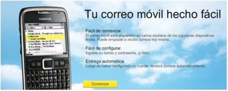 Movistar comercializará el Nokia Email
