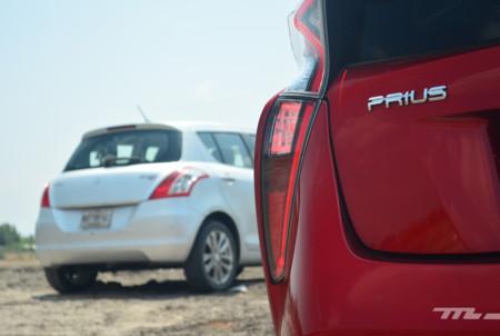 Toyota Prius Vs Suzuki Swift 2