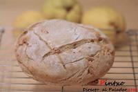 Pan de espelta y nueces. Receta