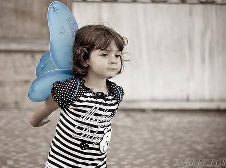 """La foto de tu bebé: con alas de """"papiposa"""""""