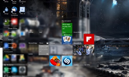 El curioso bug de Windows 10 cuya estética le ha gustado a más de uno. La imagen de la semana