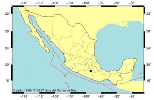 Esto es lo que dicen los investigadores del Sismológico Nacional sobre el temblor de 7.1 grados en Ciudad de México