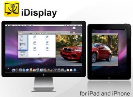 iDisplay, utilizar el iPad como segundo monitor