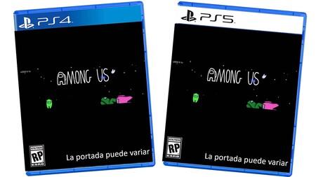 Amazon México lista versiones físicas de 'Among Us' para PS4 y PS5 que todavía no han sido anunciadas