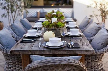 Muebles de jardín para disfrutar... en el interior