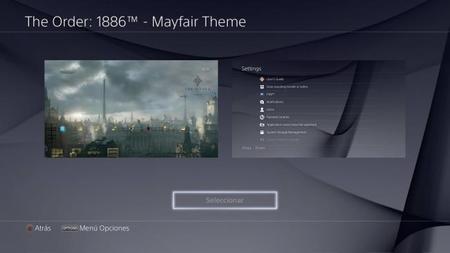 Dale más personalidad a la interfaz de tu PS4 con este tema gratuito de The Order: 1886