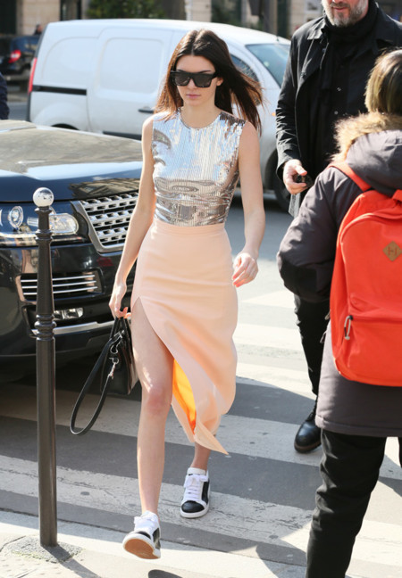Kendall Jenner Look Deportivas Celine