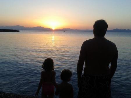 Familia con niños en Mallorca