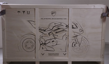Ducati Superleggera V4 Entrega Especial