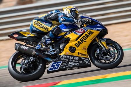 ¡Siete de siete! Andrea Locatelli mantiene su pleno de victorias en Supersport con otro paseo por MotorLand