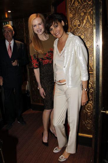 Nicole Kidman e Ines de la Fressange