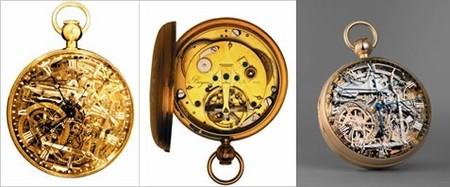 la Marie-Antoinette n. 160, la Breguet n. 1188 avec tourbillon, la nouvelle Marie-Antoinette
