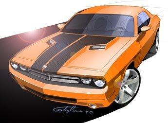 2008 Dodge Challenger para los puristas