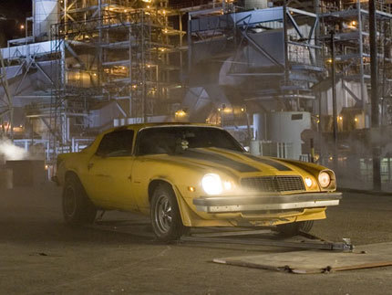 El Chevrolet Camaro De Transformers A La Venta En Ebay