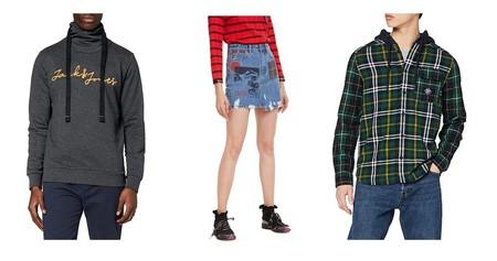 11 chollos en tallas sueltas de pantalones, sudaderas y camisetas de marcas como Desigual, Superdry o Jack & Jones en Amazon
