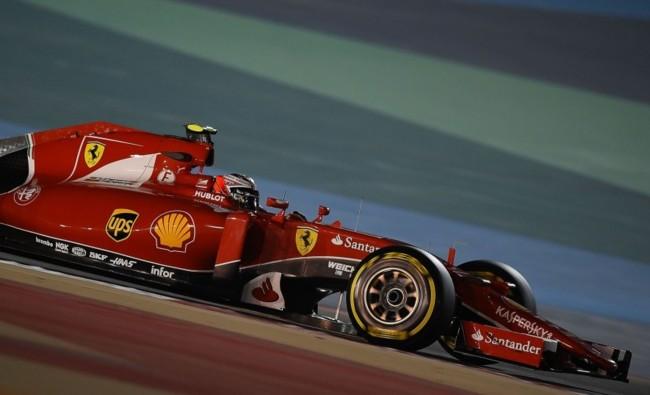 Kimi Raikkonen 2015 Bahrein F1