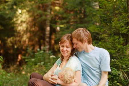 El papel del padre en la lactancia
