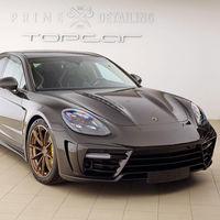 Sopa de Panameras en Ginebra: TopCar también le hace un traje a la berlina deportiva de Porsche