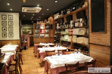 Restaurante Da Giuseppina, un buen restaurante italiano en Madrid