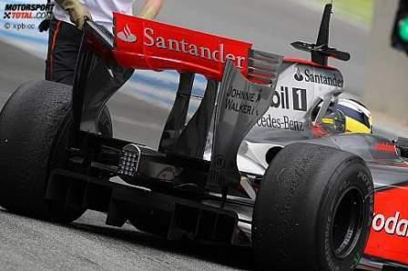 McLaren y BMW probaron los neumáticos de 2010