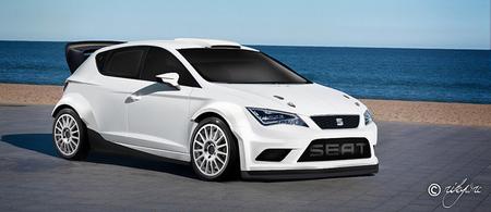 Cómo luciría el nuevo SEAT León en versión WRC