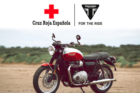Triumph Bonneville T100 Bud Ekins Sorteo Donacion Cruz Roja Covid19 3