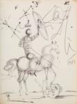Se remata un dibujo de Salvador Dalí en 9.500 euros