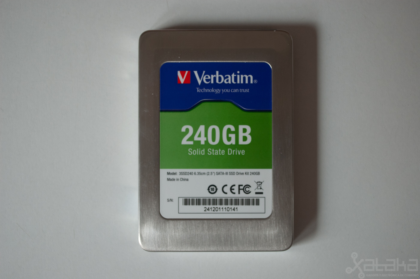 Foto de Verbatim SSD SATA-III, análisis (3/9)