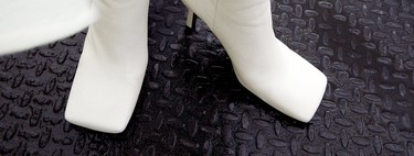 La punta cuadrada invade la nueva colección de calzado de Zara para este Otoño 2020