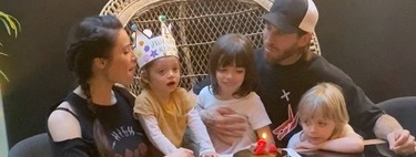 Sergio Ramos mete goles como hijos en el coche familiar, así le ha dedicado el último al que viene en camino