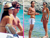 María José Suárez y Feliciano López a las vueltas otra vez en Ibiza