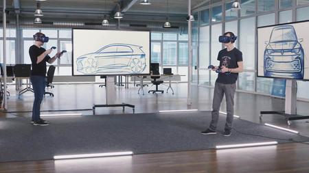 Diseño digital Volkswagen coche eléctrico
