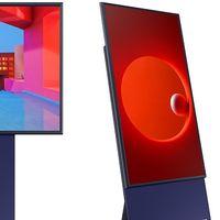"""Esta es The Sero, la nueva smart TV de Samsung con orientación vertical para los amantes del """"screen mirroring"""" desde el móvil"""