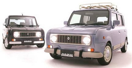El Renault 4 Latas sigue vivo: réplica japonesa basada en un Suzuki