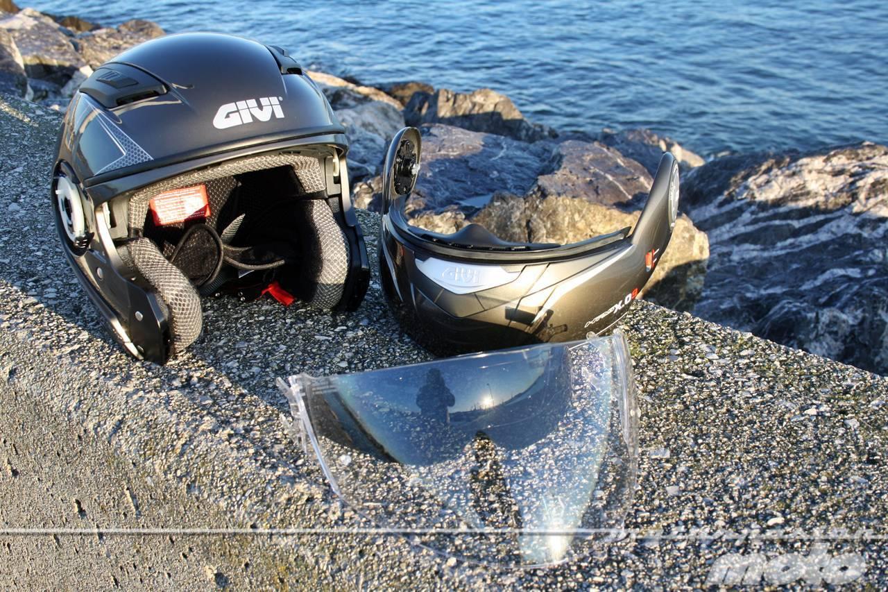 Foto de GIVI X.09, prueba del casco modular convertible a jet (29/38)