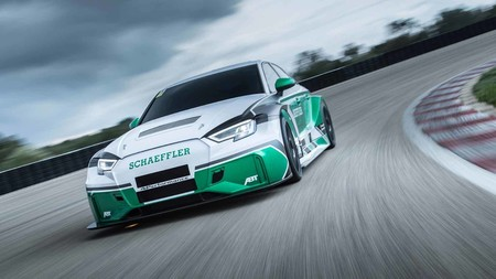 Audi y Shaeffler crearon un RS3 eléctrico con 1180 hp