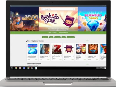Google Play llega a los Chromebooks ¿acabará Android absorbiendo a Chrome OS?