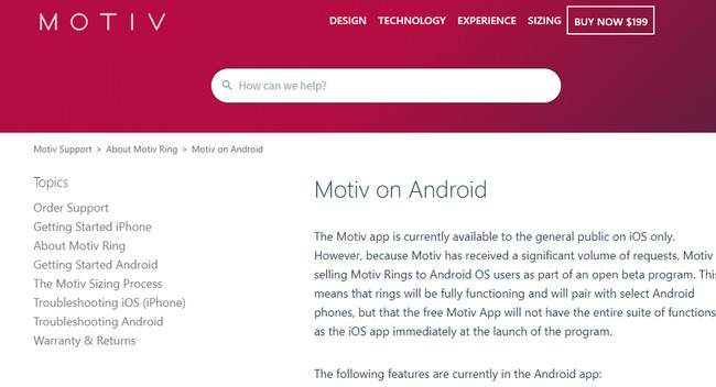 Motiv Android