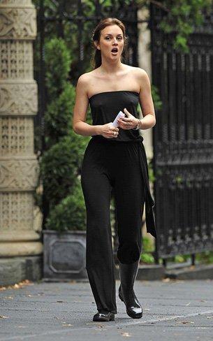 El peor estilismo de Leighton Meester como Blair Waldorf en Gossip Girl