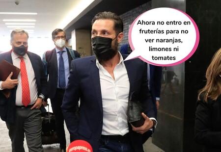 Antonio David Flores se reencuentra (más tenso que un Action Man) con Carlota Corredera, Gema López y David Valldeperas en los juzgados