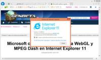 Internet Explorer 11 también llegará a Windows 7