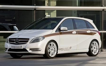 Mercedes-Benz Clase B E-Cell, solo eléctrico y con tecnología de Tesla
