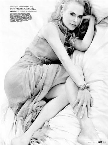 Nicole Kidman en la portada de Elle Us de noviembre