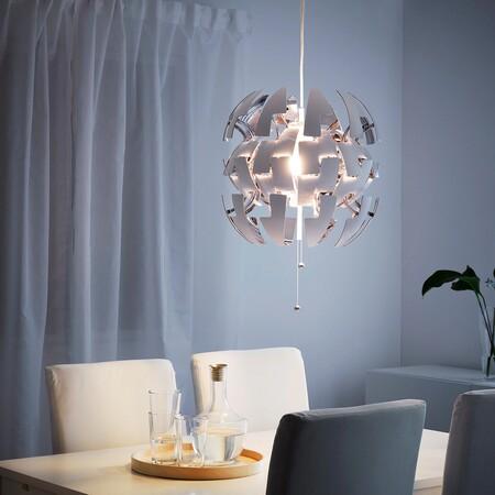 Ikea Ps 2014 Lampara Techo Blanco Gris Plata 0880386 Pe613933 S5