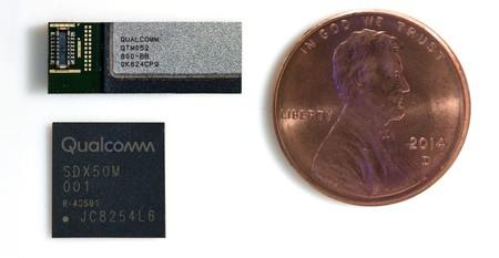 Qualcomm Qtm052 Antenna Module And Qualcomm Snapdragon X50 5g Modem E1532088625892