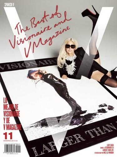 Estas son las portadas a las que no renuncio: V Magazine Spain Invierno 2011/2012