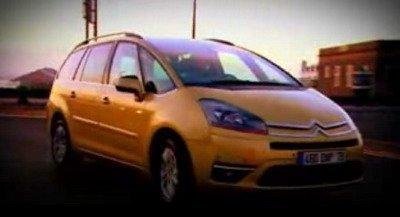 Prueba del nuevo Citroën C4 Picasso por Fifth Gear