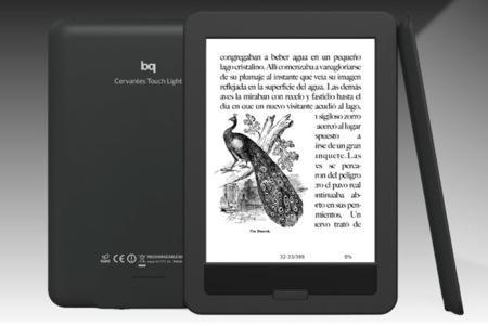 Cervantes Touch Light, BQ lanza su propia alternativa al Kindle Paperwhite