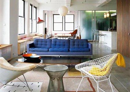 Puertas abiertas: un apartamento familiar en Manhattan
