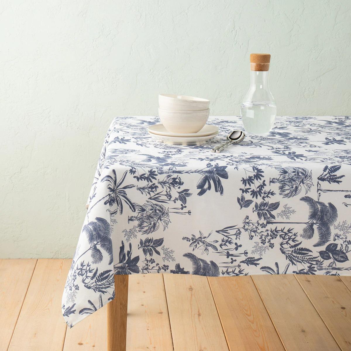 Mantel antimanchas resinado de algodón Paraíso El Corte Inglés